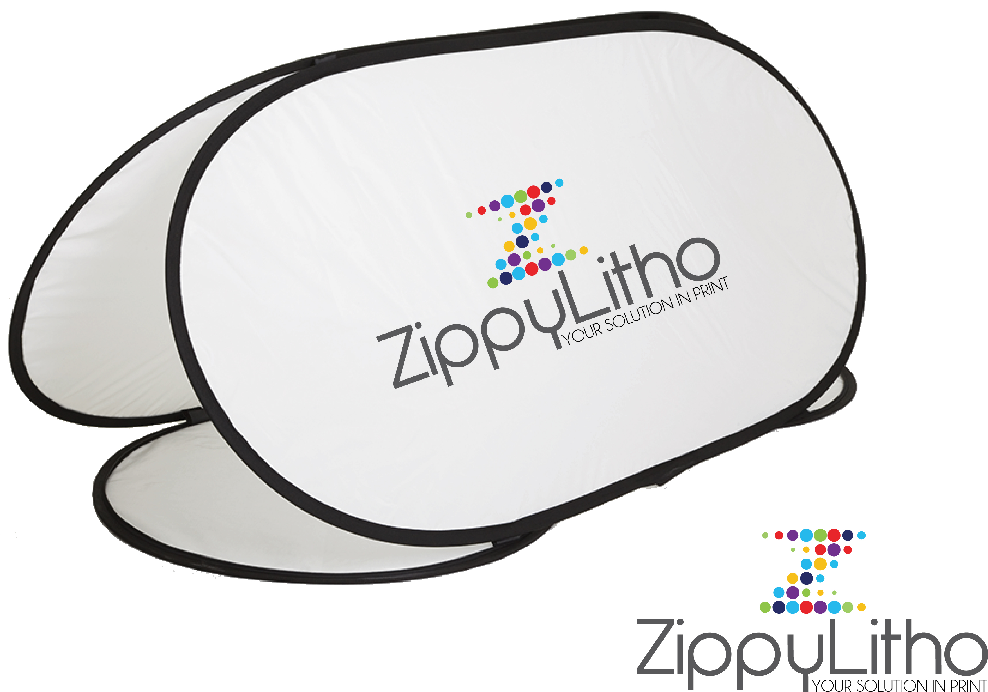 pop up banner zippy litho